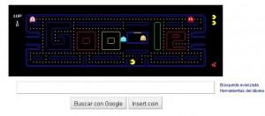 Pac-Man y Google