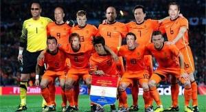 La nueva selección holandesa