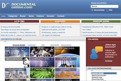Documental Online: Portal para ver Documentales Online Gratis