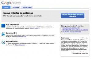 Nueva versión de Google Adsense