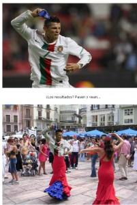 Montajes fotográficos de Cristiano Ronaldo