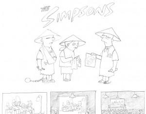 Los Simpsons por Banksy