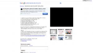 Impresionante captura de pantalla  Captura y Anota - Galería de extensiones de Google Chrome