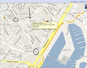 Google esta liando a los turistas