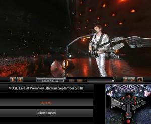 Concierto de Muse virtual 360 grados
