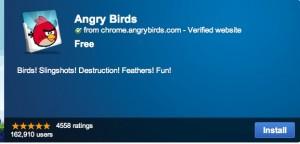 Jugar a Angry Birds en Google Chrome