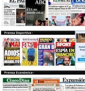 Kiosko.net Leer periódicos gratis por internet