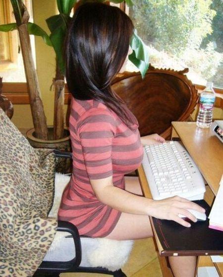 La mejor postura para sentarse delante del ordenador