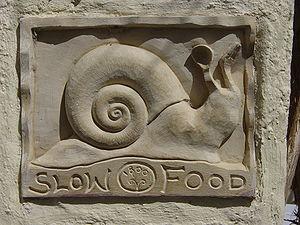 No podía ser otro: el logo de la Slow Food es el Caracol