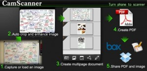 CamScanner escanear documentos con Android