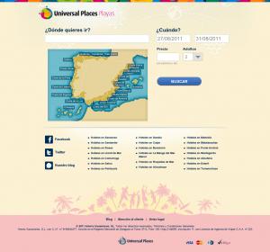 Universalplaces.com encuentra destino de playas a precios baratos