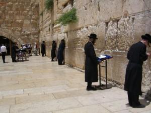 Muro de los lamentos en Jerusalem