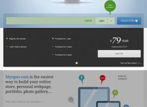 Crear páginas web gratis online con MyEgoo.com