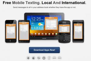 JaxtrSMS Enviar SMS mensajes de texto gratis