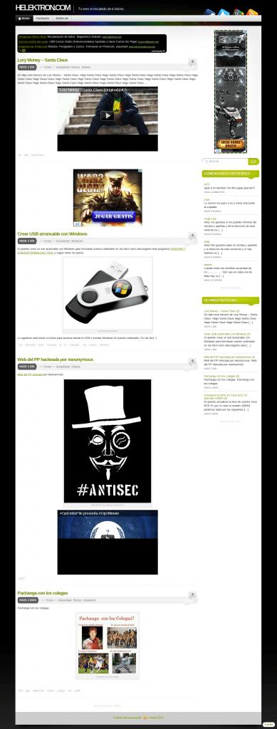 Nuevo diseño mejorado en Helektron.com y soporte para dispositivos móviles