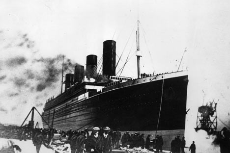 Subastada una foto del iceberg que chocó al Titanic