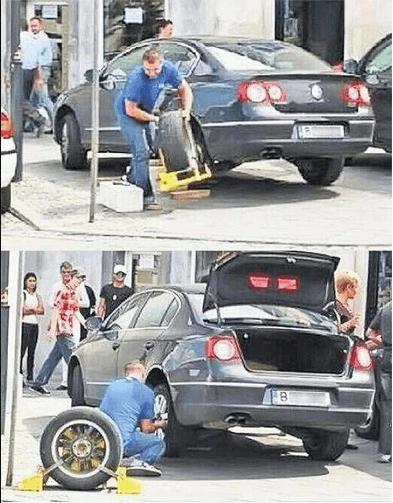 Cómo librarse del cepo en la rueda de un coche