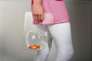 Bolsa portatil para peces