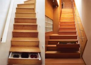 Cajones escalera