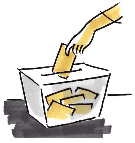 Usa el voto por correo para felicitar