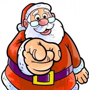 Roban a Papá Noel