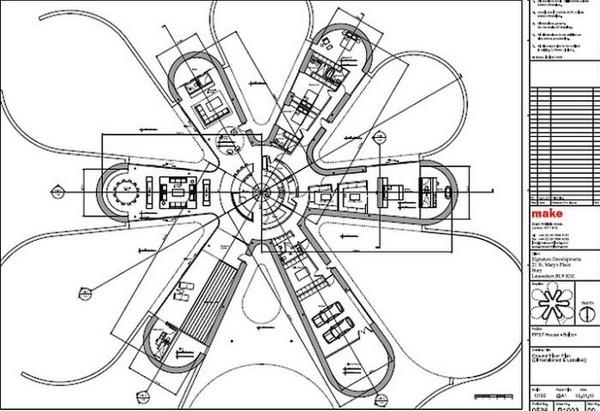 Eco Casa de última tecnología y sus planos