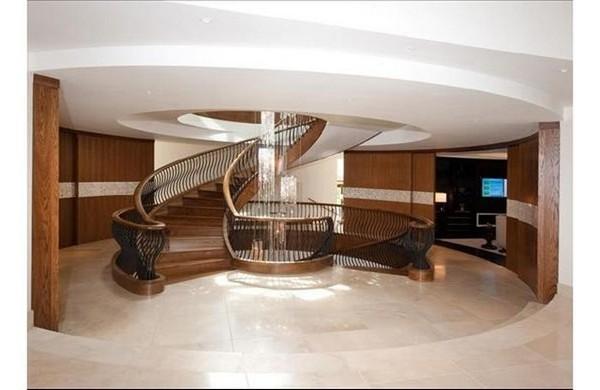 Eco Casa de última tecnología y las escaleras
