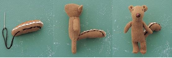 Cómo convertir un guante en un muñeco Chipmunk