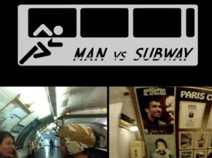 Corre más rápido que el metro de París