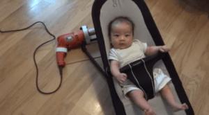 El mejor método para mecer a un bebé