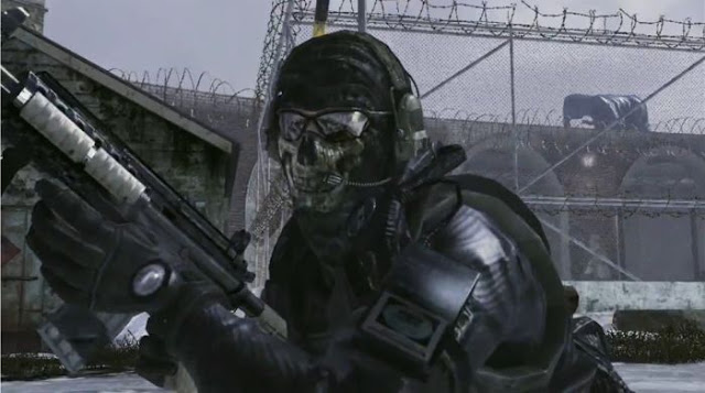 Problemas por usar la máscara de calavera de Call Of Duty