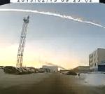 Vídeos de la caída de meteoritos en los Urales Rusia