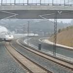 Vídeos del accidente tren Alvia Santiago de Compostela
