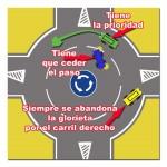 Como hacer correctamente una rotonda conduciendo