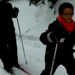 La nieve y el hielo juegan un papel importante en el vídeo