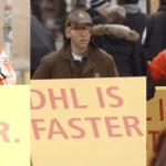 DHL troleando a sus competidores