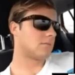 Conduciendo desde el asiento del copiloto