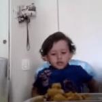 Un niño explica porque no hay que comer carne