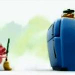 Gracioso vídeo del cerdito y las galletas