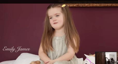 El cabello de Emily, una hermosa lección para muchos