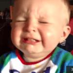 Reacción de bebés comiendo limón