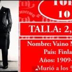 Los 10  hombres más altos de la historia