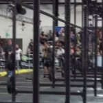 Accidentada competencia de crossfit