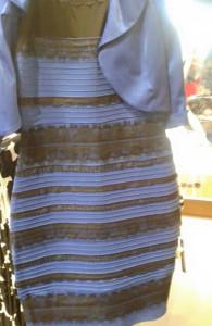 El vestido azul y negro o blanco y dorado
