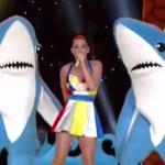 Cómica coreografía de los tiburones de Katy Perry