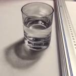 Un vaso de agua, real o ilusión