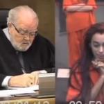 Vídeo en el que una joven insulta al juez