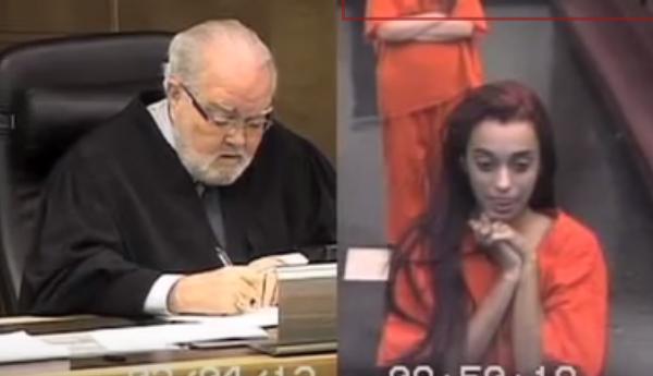 Vídeo en el que un joven insulta al juez
